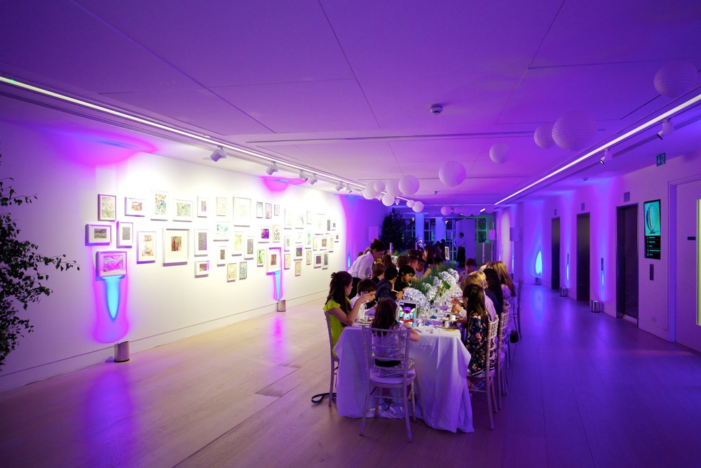 Creventive BarMitzvah Design Philips Gallery Event Production Entertainment