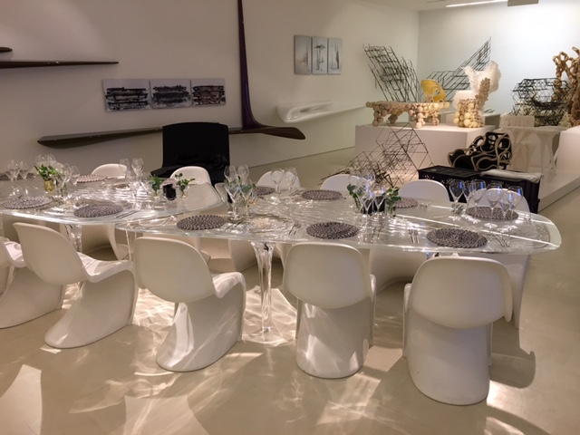 Creventive Zaha Hadid Gallery Private Dinner Event Production Design