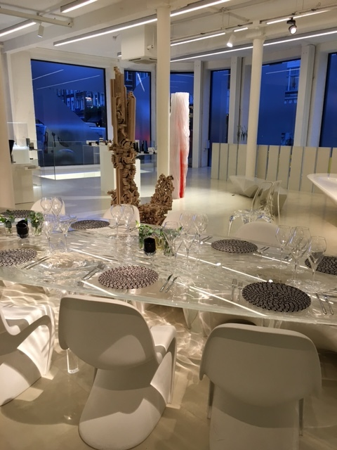 Creventive Private Dinner Zaha Hadid Gallery Production Design Catering Events