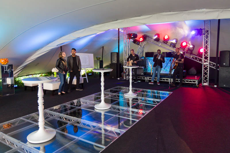 Creventive Company Launch Party Stocks House Marquee Design Furniture Production Technical Events