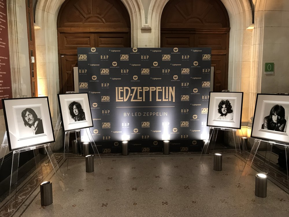 Led Zeppelin Book Launch Creventive National Portrait Gallery