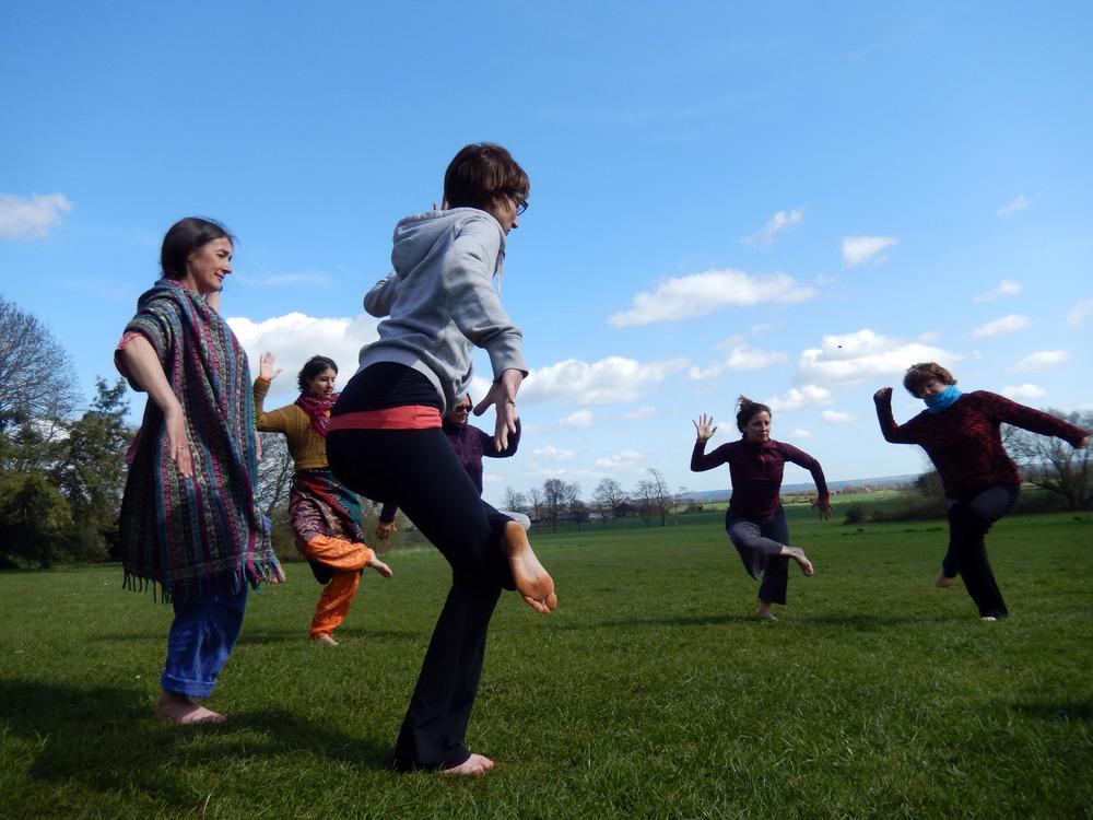 Celtic yoga wild yoga_ Uma Dinsmore-Tuli