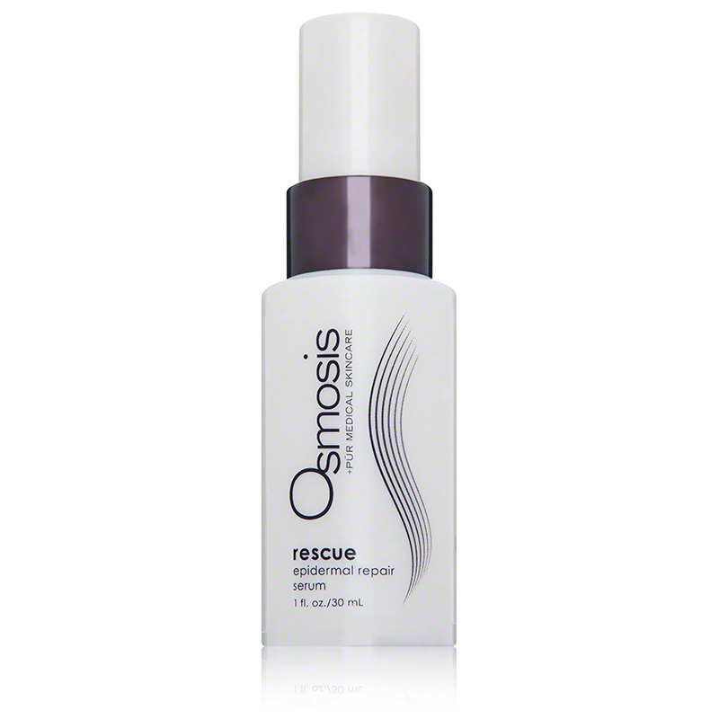 This Osmosis epidermal repair serum, Rescue, has a remarkable ability to neutralise toxins, calm inflammation, activate epidermal wound repair, and provide the skin the tools needed to permanently treat pores, age spots, and skin texture changes.