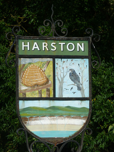 harston-village-sign