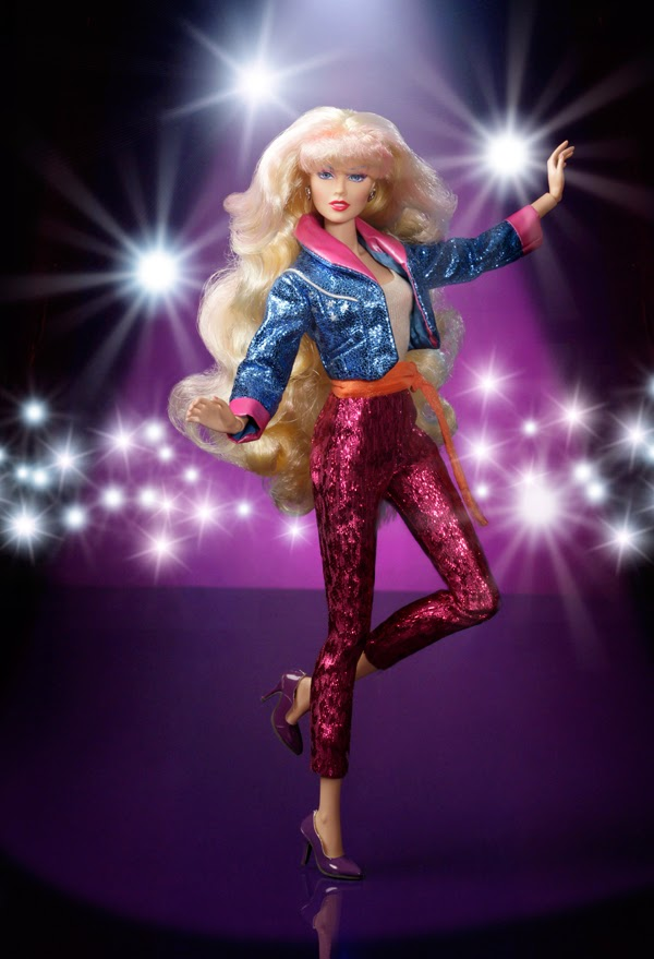 CLASH Purple DOLL Head NO BODY//Box//Clothes INTEGRITY Toys JEM Fashion Royalty FR