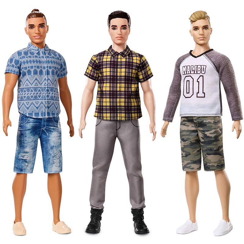 Ken fashionistas three pack