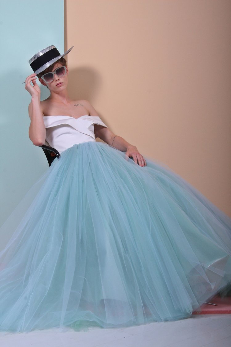 Christian Siriano shrinks some of his most famous dresses to ...