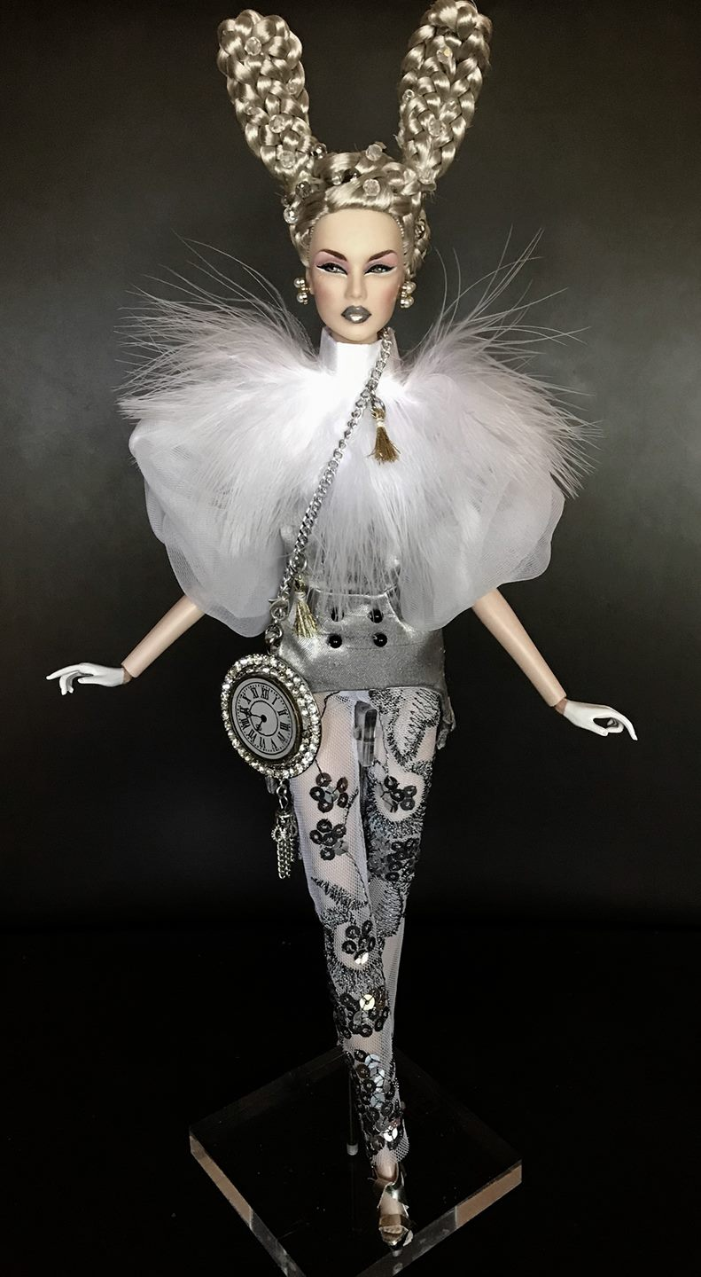 Dal Lowenbein winning doll, photo Dal, hair realization by Dennis Allen Beltrán