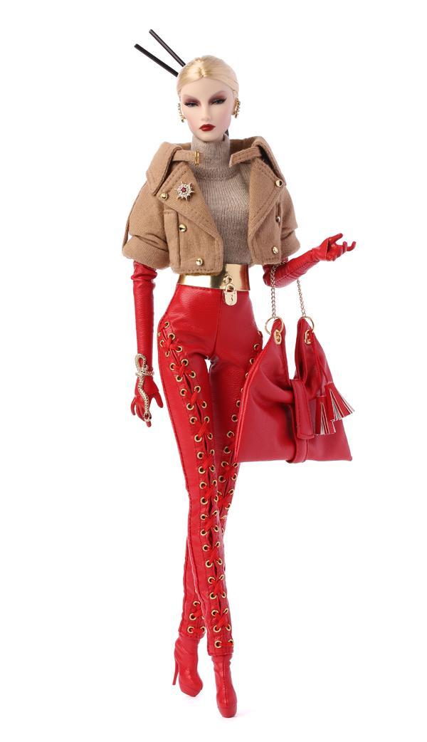 Fashion Royalty Elyse Jolie FR 6.0 Body Passion Week Cream Skin Integrity Doll