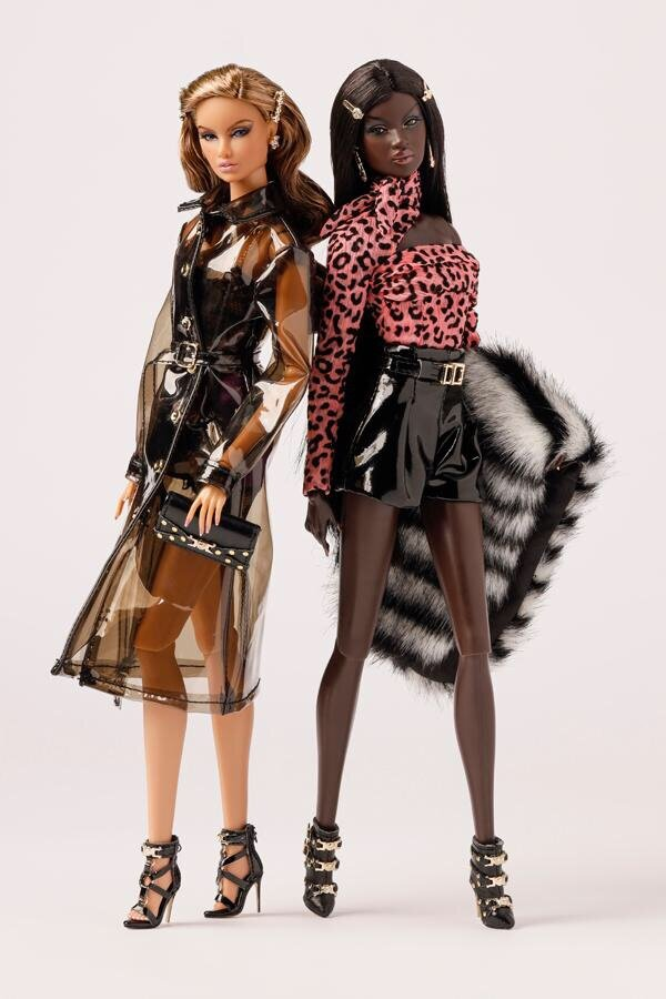 """BLOUSE SHORTS FROM LIKE NO OTHER NADJA 12/"""" LTD ED  NU FACE FASHION ROYALTY DOLL"""