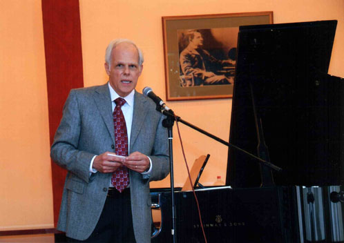 John Owings gives a lecture/recital at the 29th International Conference of the European Piano Teachers Association in Novi Sad, Serbia. November, 2007