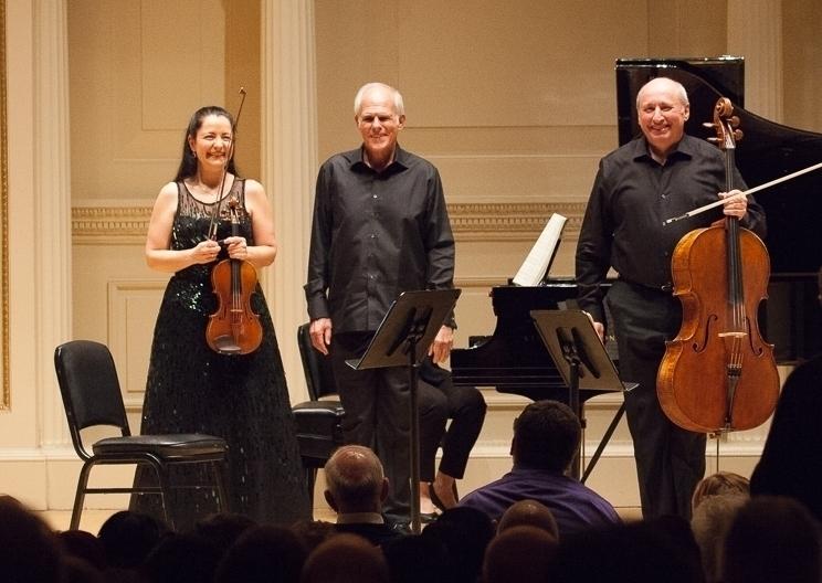 Olga Kaler, John Owings, and Misha Quint at Weill Recital Hall, November 4, 2017