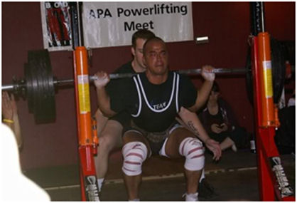Albero Nunez – Also competing in powerlifting