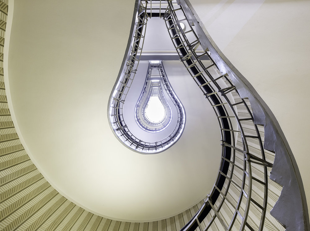 Light Bulb Staircase, Prague