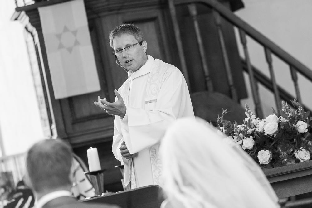 Trouwceremonie kerk Bathmen