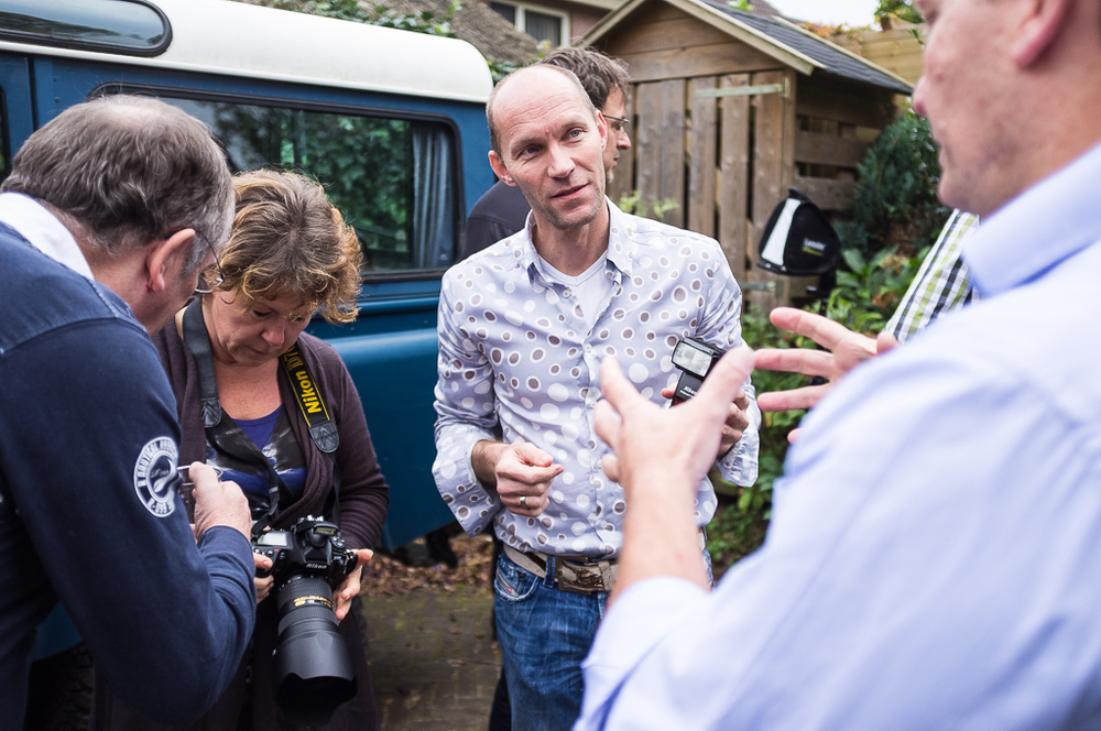 Regiobijeenkomst van de SVFN bij STUDIOVHF in 2011 foto's: Erik Jansen Fotografie Delft