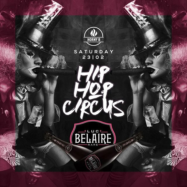 TONIGHT!! 🎪🔥💯 HIP HOP CIRCUS w/ special guest @davidbenayer 🇫🇷🇫🇷🇫🇷 @barry.fair & @neyosound  Circus show, goodies and surprise act 🤹🏿♀️ __ #hiphopcircus #hornyb #stanton #saturdaynight #officialbelaire #lucbelaire #hiphop #circus #clublife