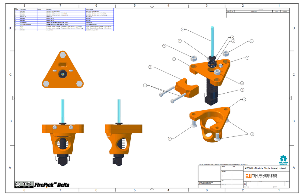 AT0004 - Modular Tool - J-Head hotend