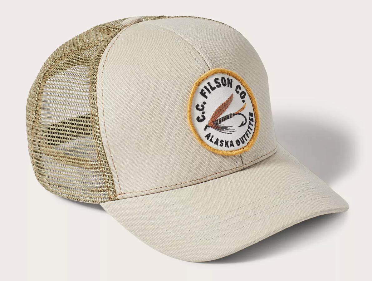 chercher meilleure collection magasin FILSON LOGGER MESH CAP KHAKI — Calame