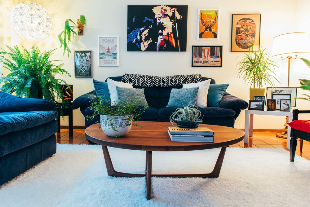 The Potted Poppy Interior Plant Styling Living Room
