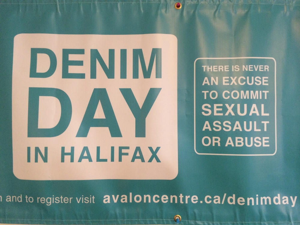 In Partnership with Avalon Sexual Health, quilt squares were created on site in support of victims of sexual violence.