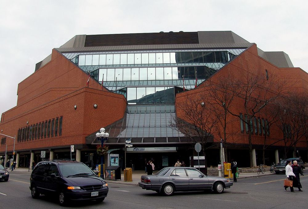 Toronto Reference Library, courtesy of Michael Stephens.