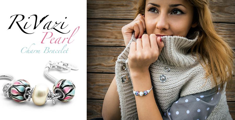 RiVazi Pearl Charm Bracelet Silver.jpg