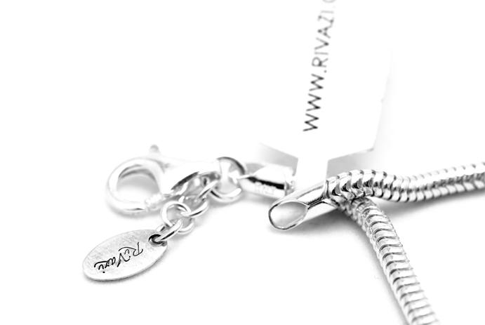 European Charm Bracelet Snake Chain