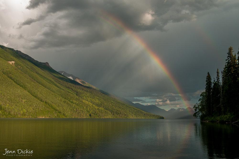 Isaac Lake Rainbow