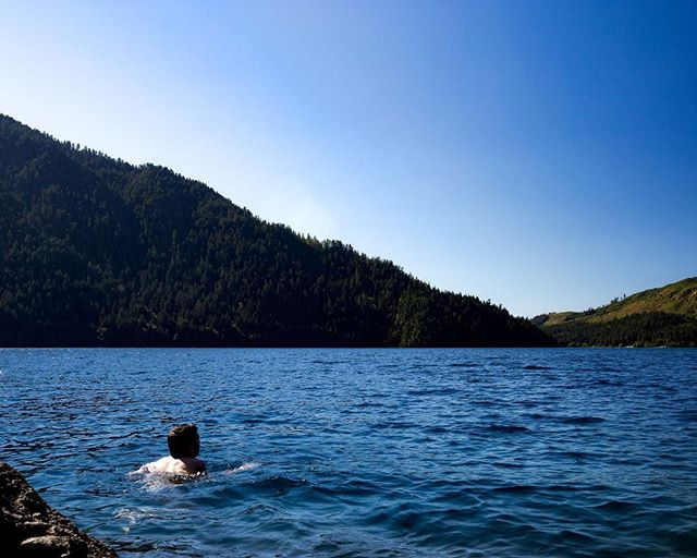 I was sitting on the shore of Lake Crescent, taking in the vast scenery. The urge hit, and the water was brisk, and deep, and clarifying. It's shock suffused every pore.  Part of To Raze The Wall's I've Constructed: The B-Sides  #razethewalls #sombreescapes #pnw #ontheroad #roadtrippin #traveldiary #travelingram #theoutbound  #simplyadventure #beautifuldestinations #superhubs #Artofvisuals #AGameofTones #moodygrams #folkgrid #visualsoflife #exklusive_shot #illgrammers #Createcommune #exploretocreate #lifeofadventure  #liveauthentic #urbanromantix #visualsoflife #forceofnature #ig_color #ig_tones #way2ill #Ourmoodydays #visualambassadors