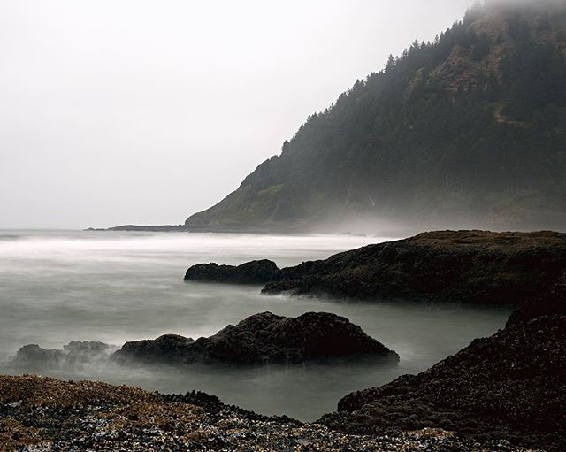 Cape Perpetua is one of the most foreboding natural landscapes I have ever seen. A jagged outcropping of rock under constant assault by an unyielding sea. It's actually kinda metal.⠀ •⠀ •⠀ •⠀ #razethewalls #sombreescapes #pnw #ontheroad #roadtrippin #traveldiary #travelingram #theoutbound  #simplyadventure #beautifuldestinations #superhubs #Artofvisuals #AGameofTones #moodygrams #folkgrid #visualsoflife #exklusive_shot #illgrammers #Createcommune #exploretocreate #lifeofadventure  #liveauthentic #urbanromantix #visualsoflife #forceofnature #ig_color #ig_tones #way2ill #Ourmoodydays #visualambassadors