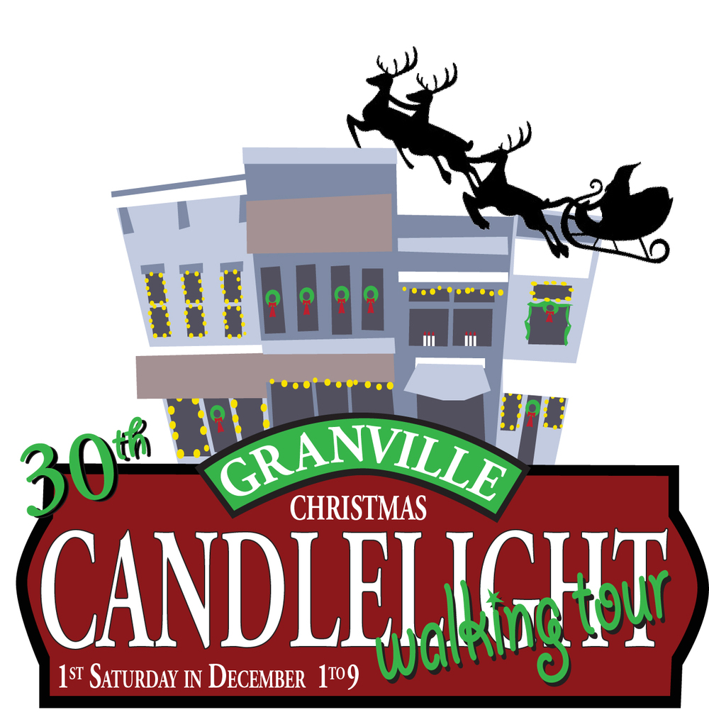 Join us in 2015 as we celebrate the 30th Anniversary of the Granville Christmas Candlelight Walking Tour! Mark your calendar for Saturday, December 5, 1-9pm.