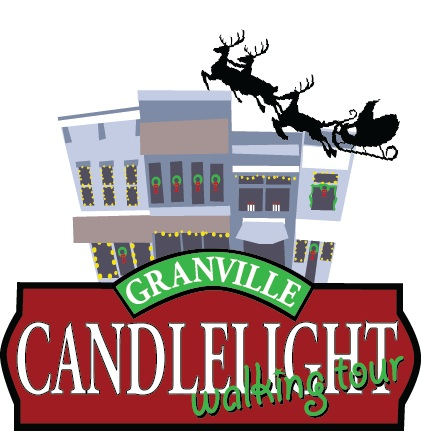 The 31st Annual Christmas Candlelight Walking Tour is sponsored by the Granville Area Chamber of Commerce and will take place on Saturday, December 3, 2016 from 1-9pm.