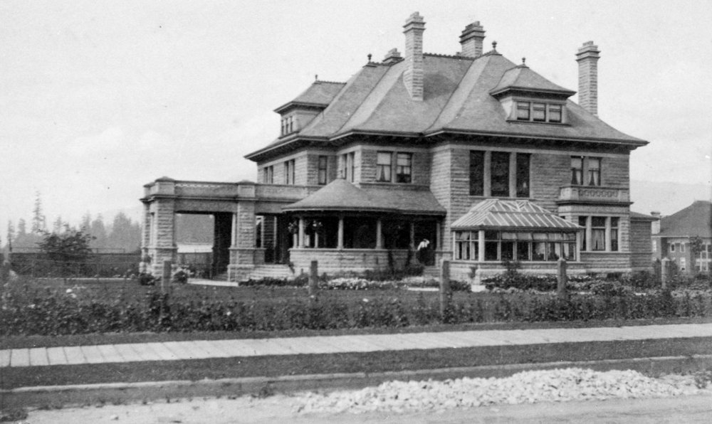 The Gabriola in 1901, shortly after completion.