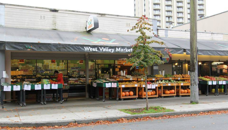 West Valley Market on Bute Street