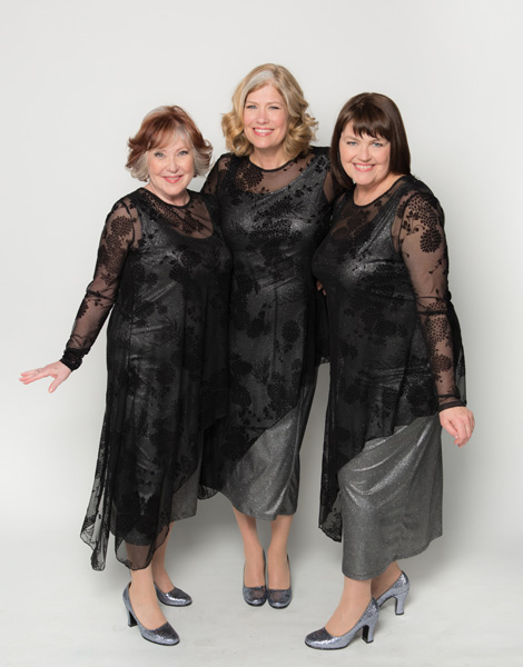 The Hot Mammas appear at St. Andrew's Wesley's Jazz Vespers February 18.