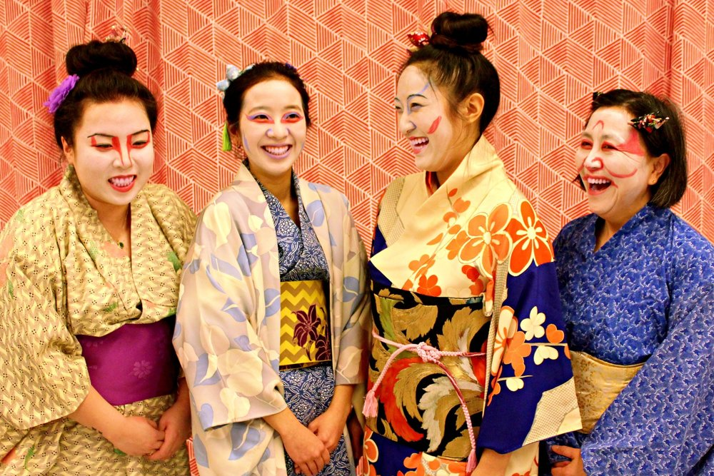 "Cast members of ""Pacific Overtures"""