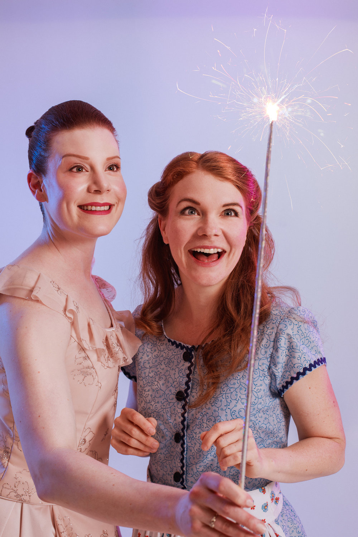 "Laura Cowan and Mallory James in ""Cinderella""(Lindsay Elliott Photo)"