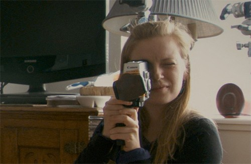 Documentary filmmaker Sarah Polly.
