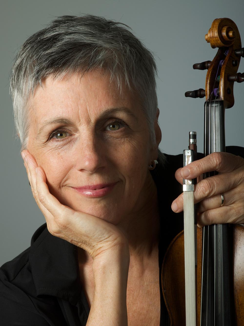 Violinist Nancy DiNovo at Roedde House Museum Jan. 13.