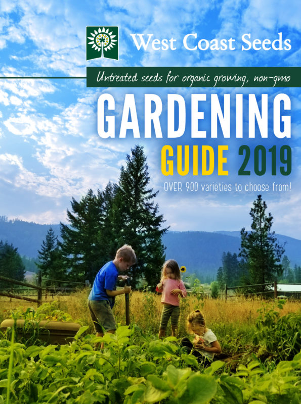 West Coast Seeds gardening Guide 2019, and invaluable gardener's resource.