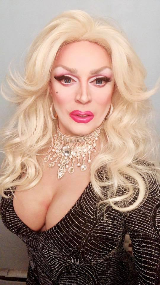 DRAG DIVA CARLOTTA GURL HEATS UP THE NIGHT WEDNESDAYS AND SATURDAYS IN DAVIE VILLAGE.