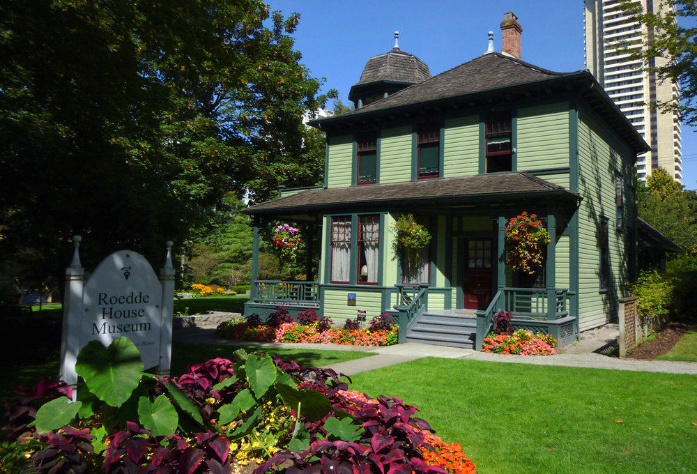 Roedde House Museum.