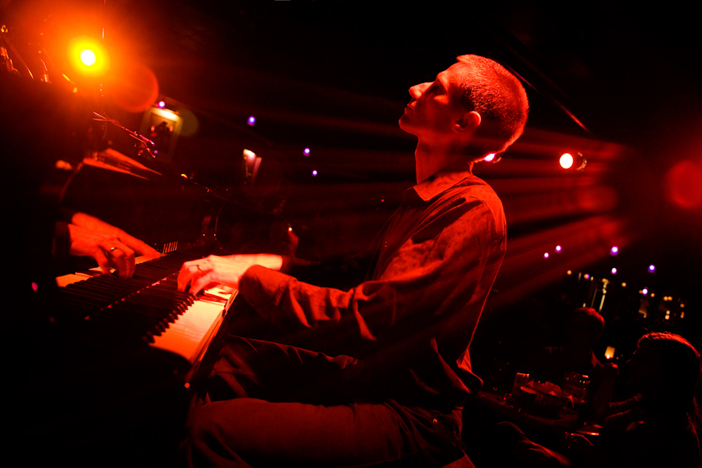 John Stetch plays at Jazz Vespers at First Baptist on March 24.