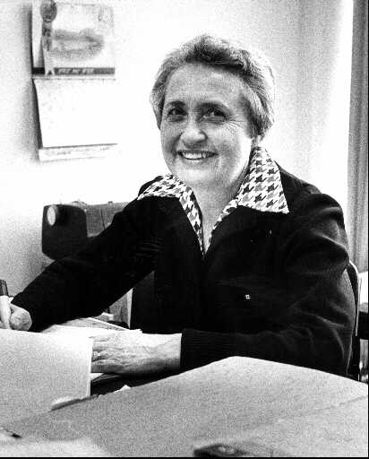 Simma Holt, West End resident and celebrated journalist, author, and politician.