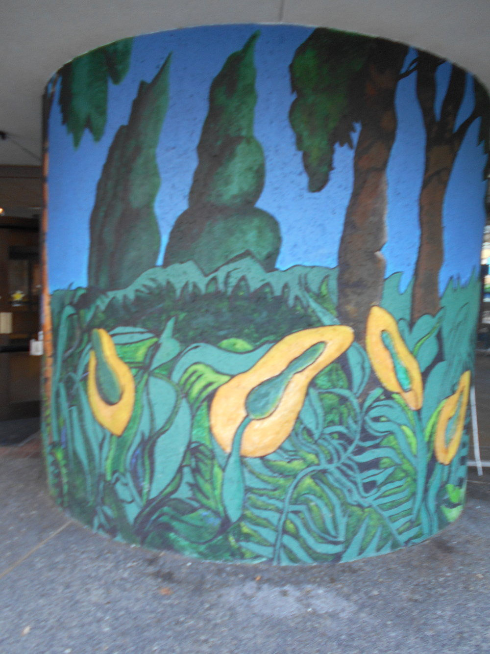 Tiko Kerr creation at the West End Community Centre.