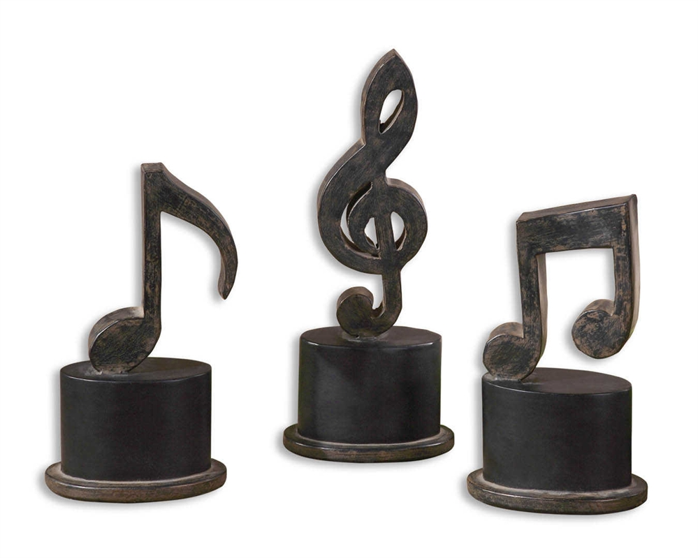Music Notes - $79Set of 3 music notes.Approximately 5