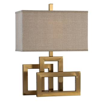 Brushed Brass Lamp - $275
