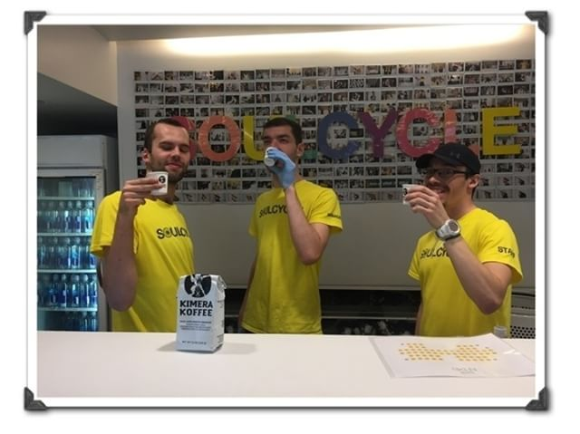 @soulcycle NYC staff enjoying Kimera before their daily grind. Cheers!  #kimerakoffee #teamkimera #Becomethelegend#coffee#cotd#caffeine#nootropics#coffeebreak#coffeetime#coffeelover#coffeeholic#coffiecup#coffeelove#coffeeholic#nootropic #fitness #crossfit #SoulCycle #nootropicssupplements #supplements #Health #wellness #cheers #coffeedrinker #activelifestyle #workout #workingout