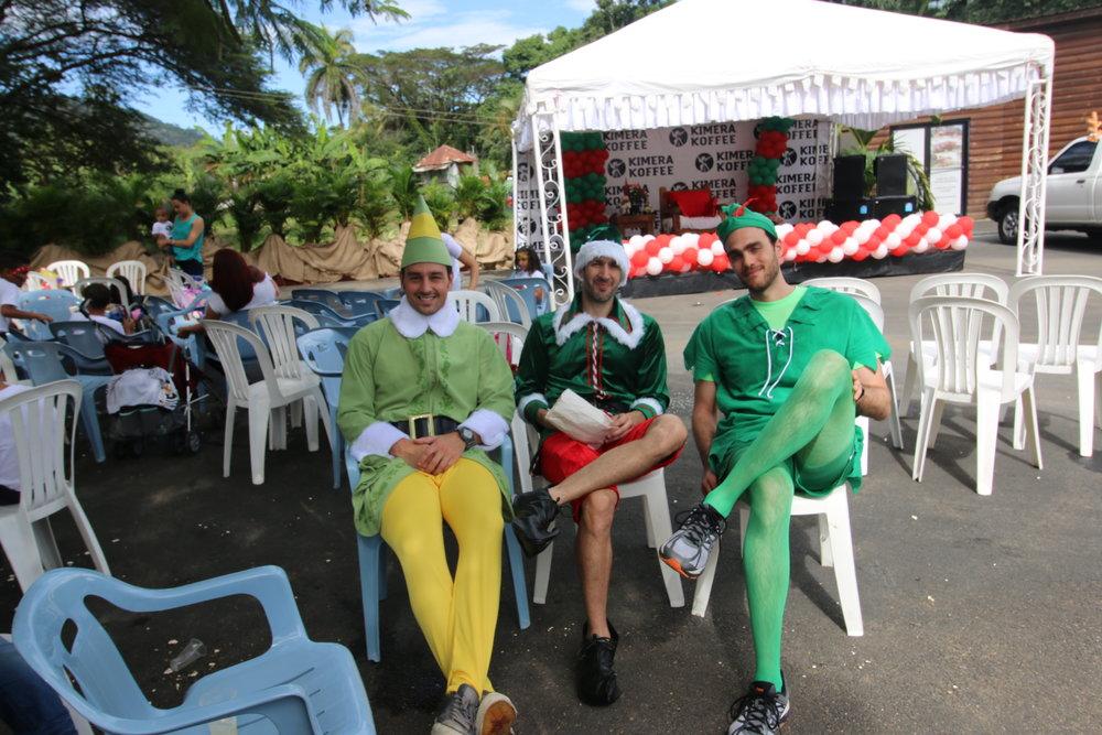Just a typical Kimera Koffee holiday party at the farm (Jarabacoa, Dominican Republic)